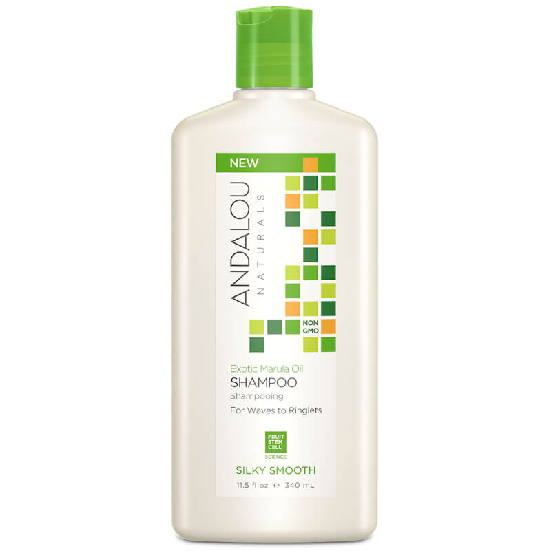 Afbeelding van Andalou Naturals Exotic Marula Oil Silky Smooth Shampoo - For Waves To Ringlets 340ml.
