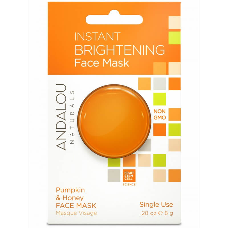 Afbeelding van Andalou Naturals Instant Brightening Face Mask Pumpkin & Honey - Brightening 8g.