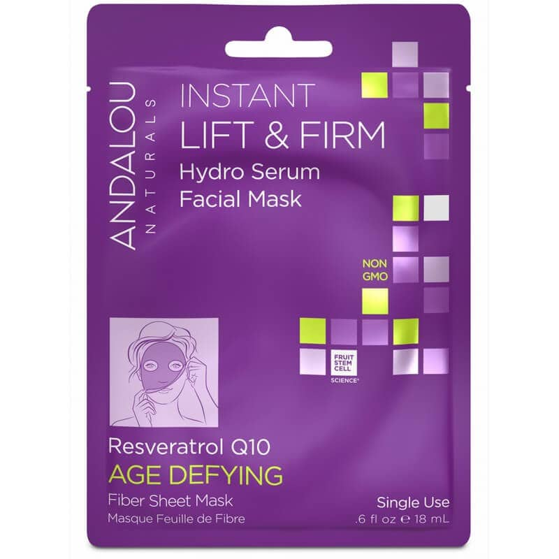 Afbeelding van Andalou Naturals Instant Lift & Firm Hydro Serum Facial Mask - Age Defying18ml.