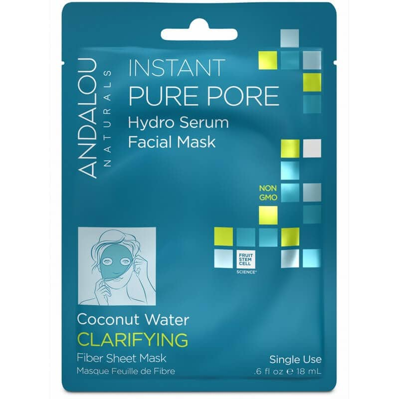 Afbeelding van Andalou Naturals Instant Pure Pore Hydro Serum Facial Mask - Clear Skin 18ml.