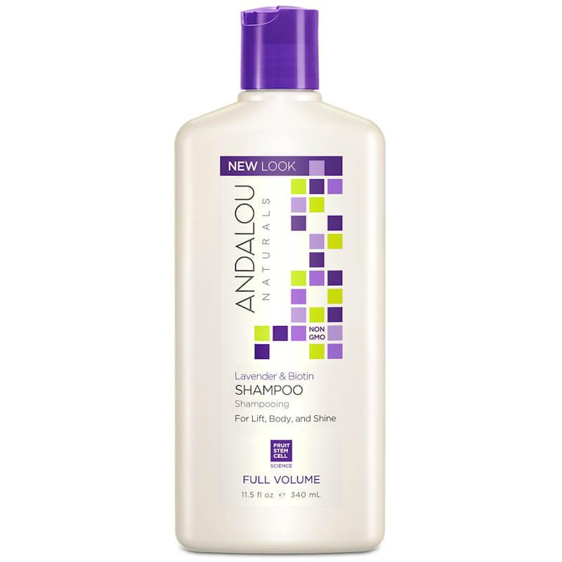 Afbeelding van Andalou Naturals Lavender & Biotin Shampoo - Full Volume 340ml.