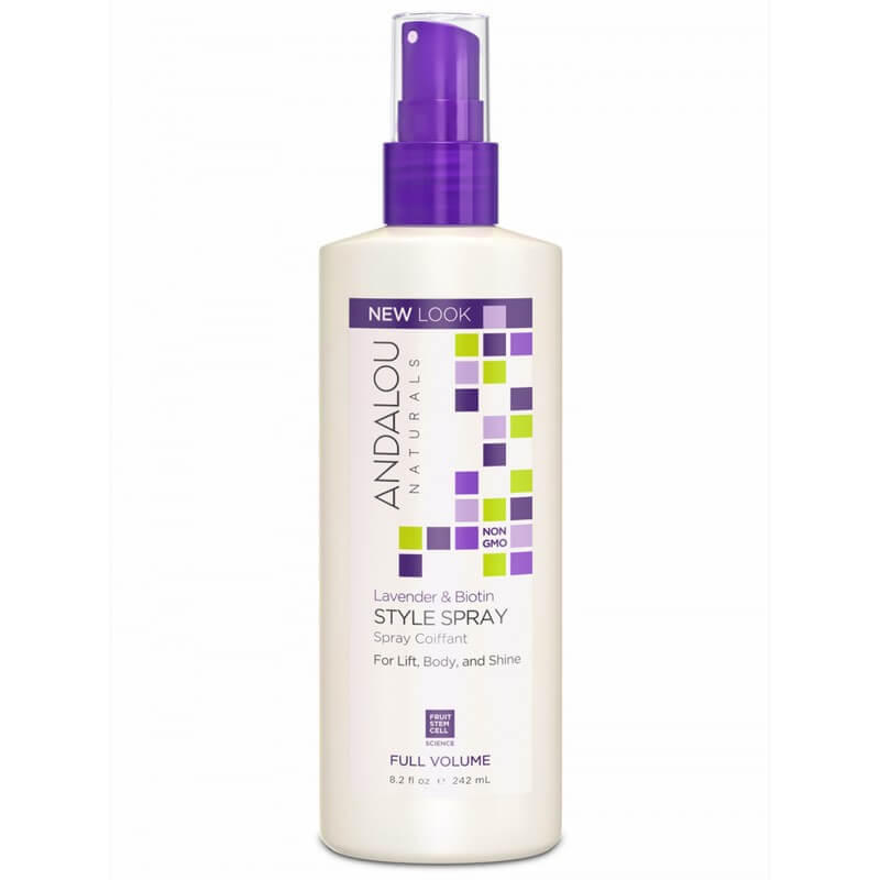 Afbeelding van Andalou Naturals Lavender & Biotin Style Spray - Full Volume 242ml.