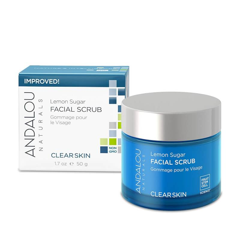 Afbeelding van Andalou Naturals Lemon Sugar Facial Scrub - Clear Skin 50ml.