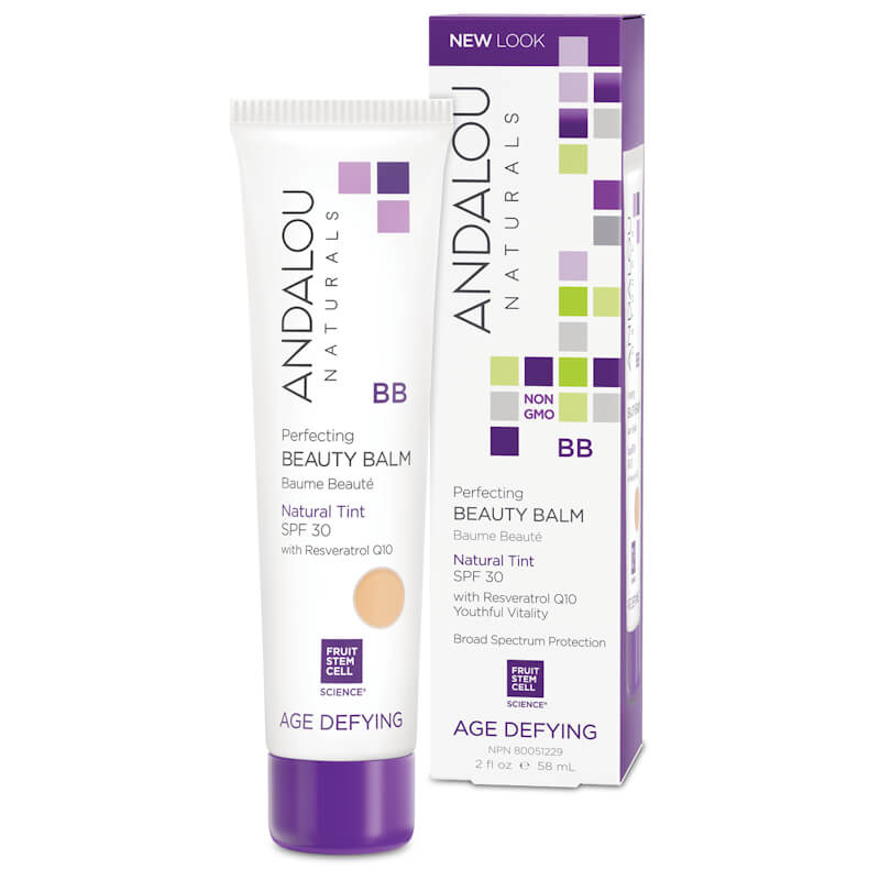 Afbeelding van Andalou Naturals Perfecting BB Beauty Balm Natural Tint Spf30 - Age Defying 58ml.