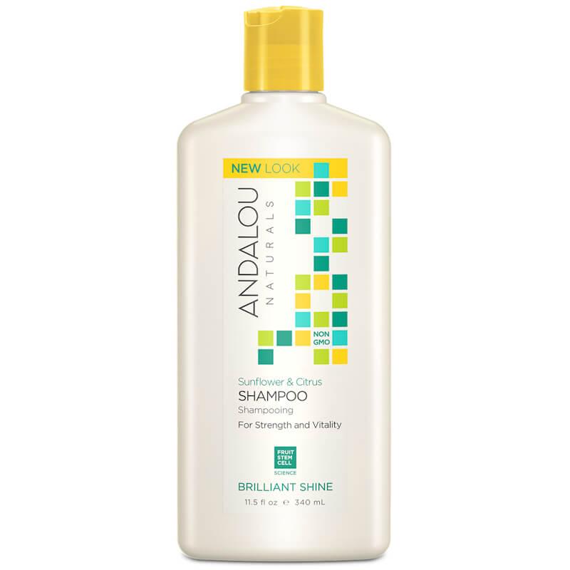 Afbeelding van Andalou Naturals Sunflower & Citrus Brilliant Shine Shampoo - Strength And Vitality 340ml.