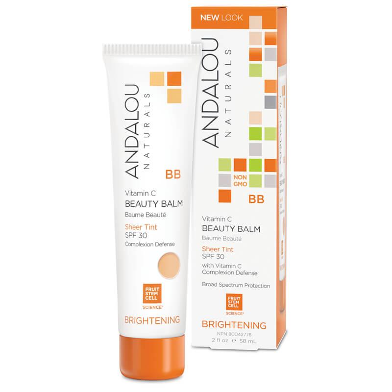 Afbeelding van Andalou Naturals Vitamin C BB Beauty Balm Sheer Tint SPF30 - Brightening 58ml.