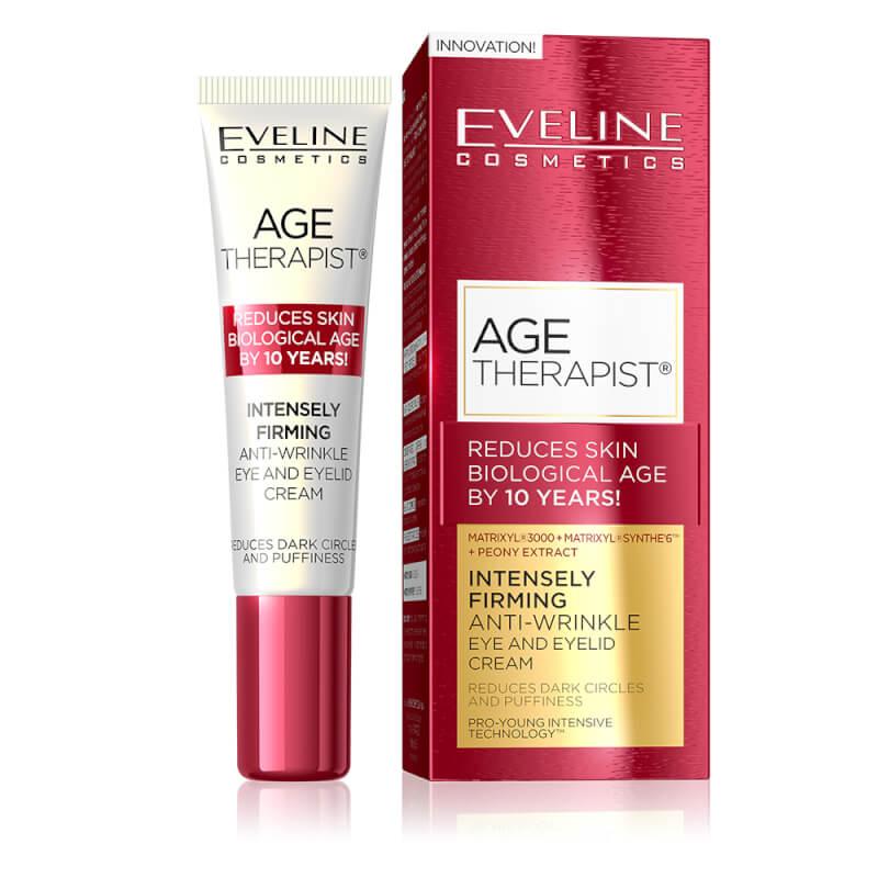 Afbeelding van Eveline Cosmetics Age Therapist Intensely Firming Anti Wrinkle Eye And Eyelid Cream 15ml.