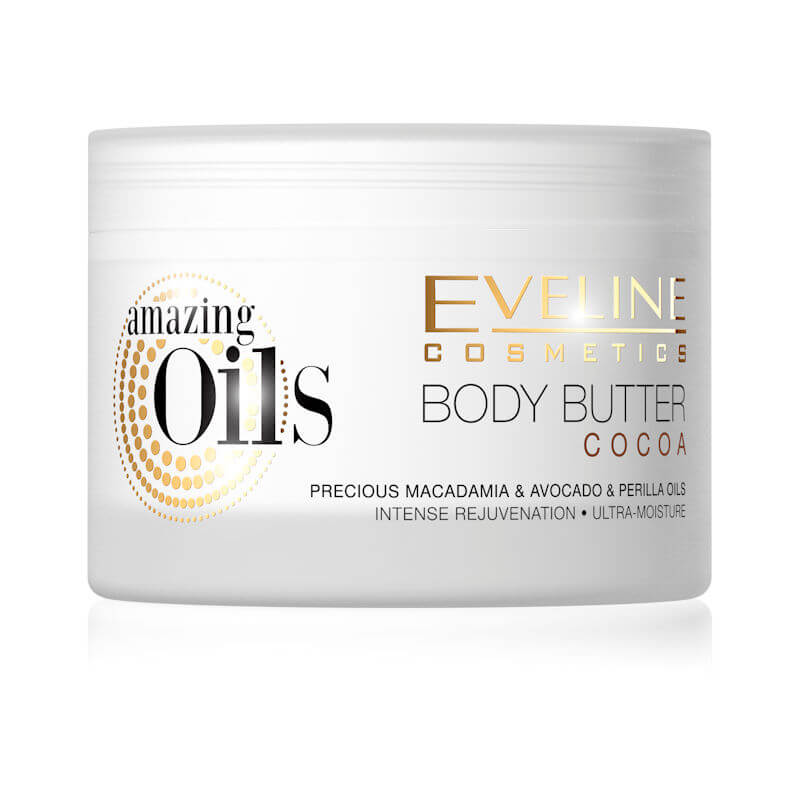 Afbeelding van Eveline Cosmetics Amazing Oils Cocoa Body Butter 200ml.