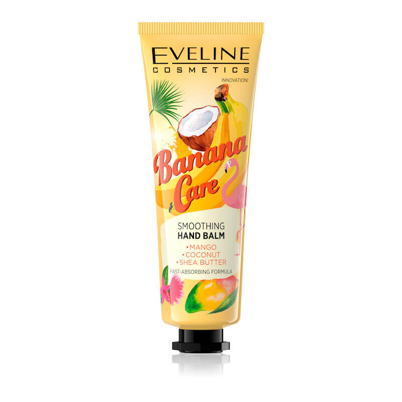 Afbeelding van Eveline Cosmetics Banana Care Smoothing Hand Balm 50ml.