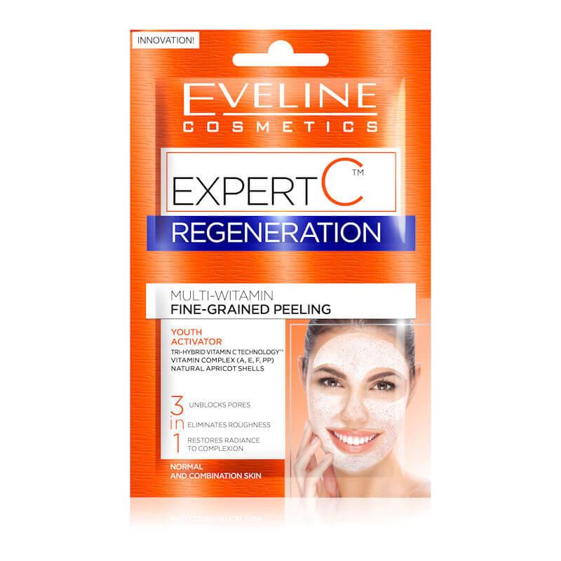 Afbeelding van Eveline Cosmetics Expert C Regeneration Multi Vitamin Fine Grained Peeling 2x5ml.
