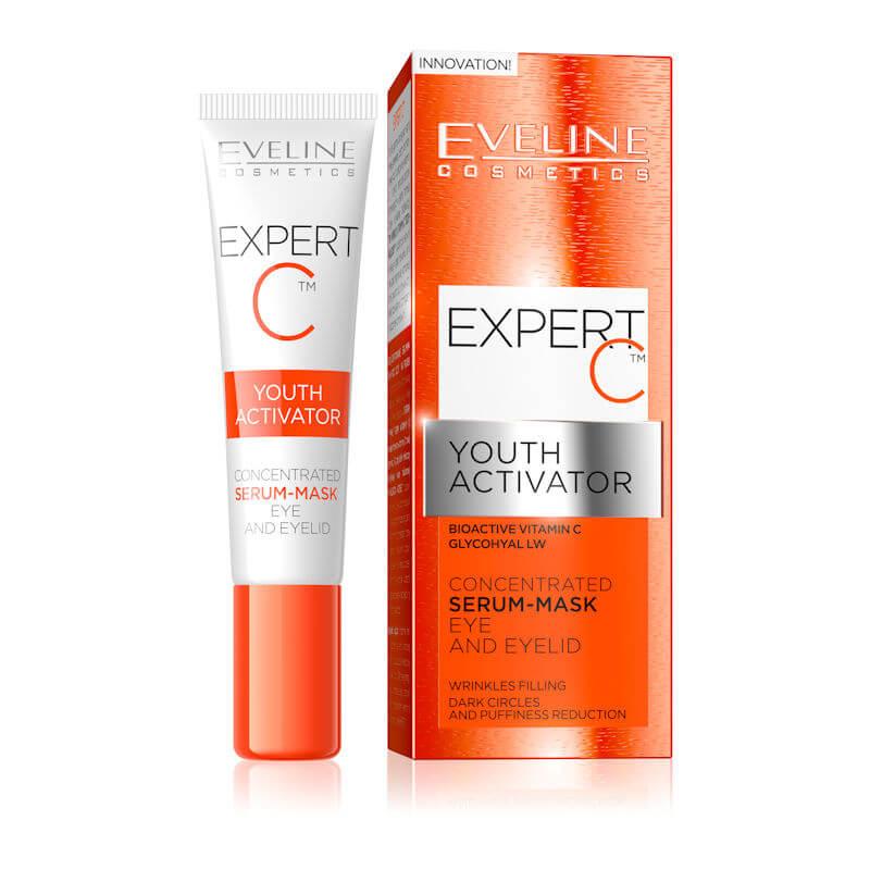 Afbeelding van Eveline Cosmetics Expert C Youth Activator Serum - Mask Eye & Eyelid 15ml.