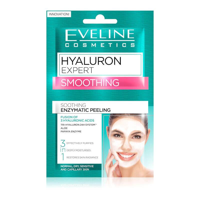 Afbeelding van Eveline Cosmetics Hyaluron Expert Smoothing Enzymatic Peeling 2x5ml.