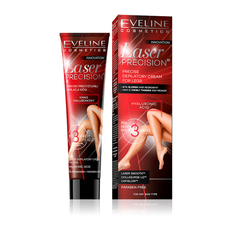 Afbeelding van Eveline Cosmetics Laser Precision Pricese Depilatory Cream For Legs 125ml.*