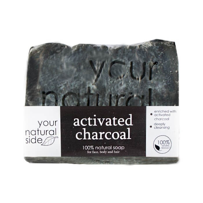Afbeelding van Your Natural Side Activated Charcoal Soap 100g.