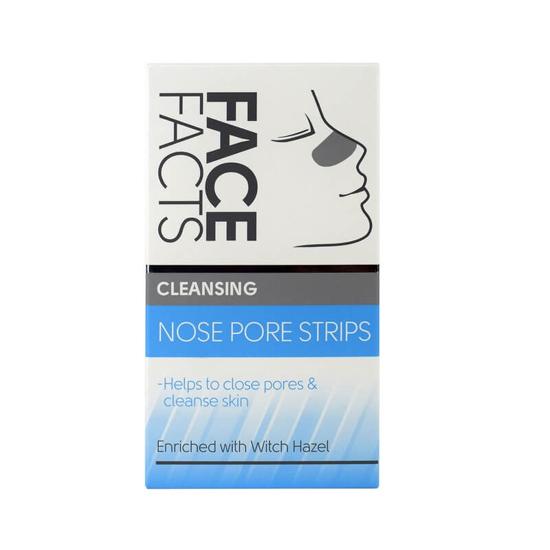 Afbeelding van Face Facts Cleansing Nose Pore Strips 6st.