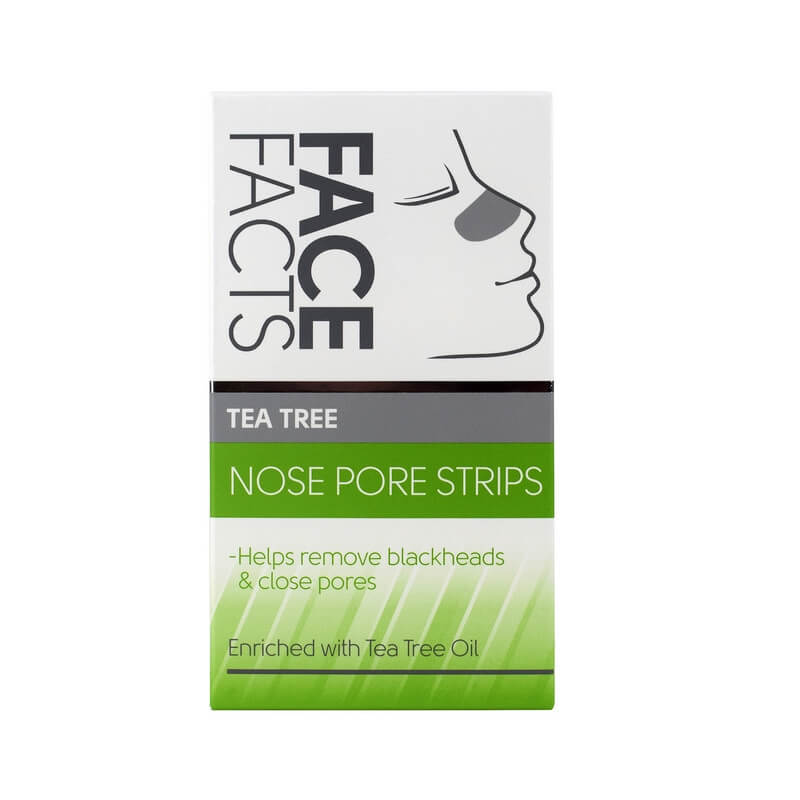 Afbeelding van Face Facts Tea Tree Nose Pore Strips 6st.