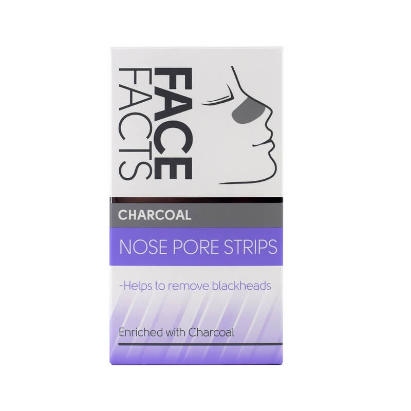 Afbeelding van Face Facts Charcoal Nose Pore Strips 6st.