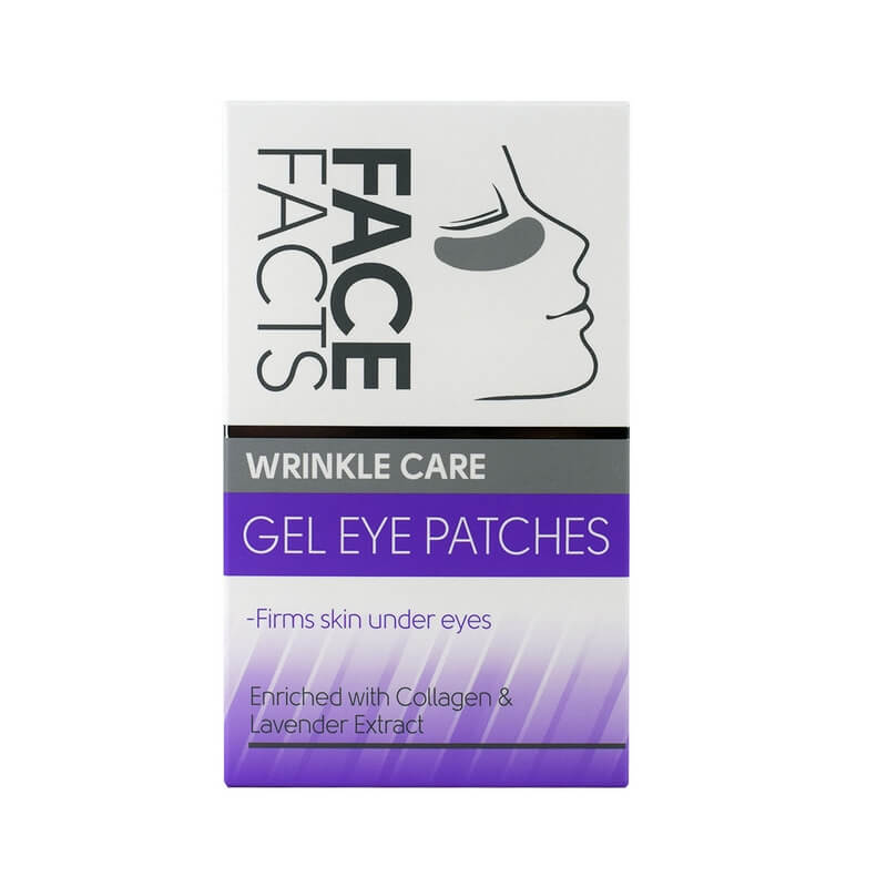 Afbeelding van Face Facts Wrinkle Care Gel Eye Patches 4 paar