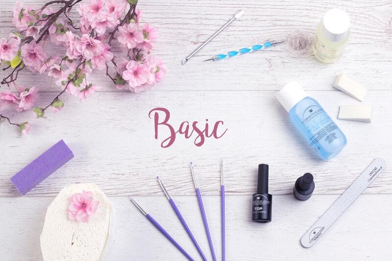 Afbeelding van Cosmetics Zone Basic Hybride Nagel Decoratie SET #1