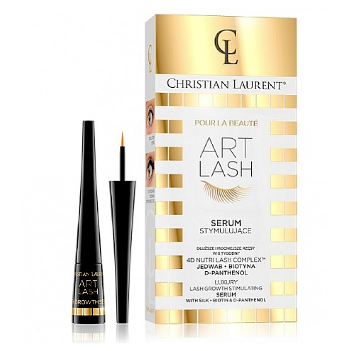 Afbeelding van Eveline Cosmetics Christian Laurent Art Lash Growht Stimulating Wimperserum + Silk