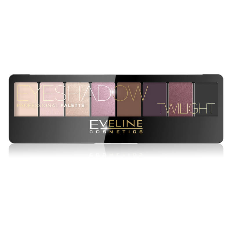 Afbeelding van Eveline Cosmetics Eyeshadow Palette 8 Colors Twilight