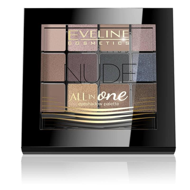 Afbeelding van Eveline Cosmetics Eyeshadow Palette All In One 12 Colors Nude