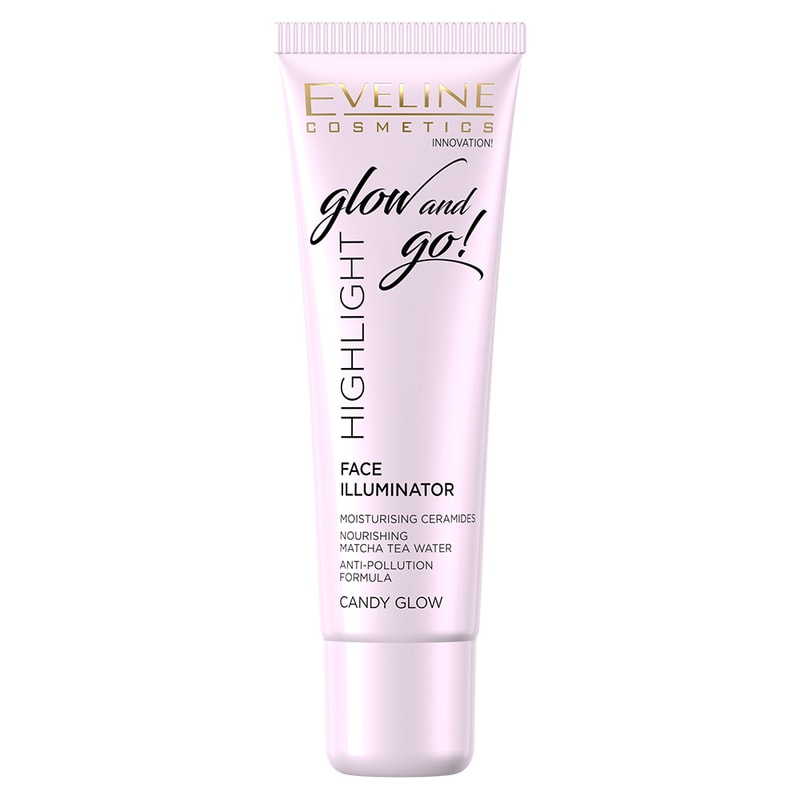 Afbeelding van Eveline Cosmetics Face Illuminator Glow And Go Candy Glow 20ml.