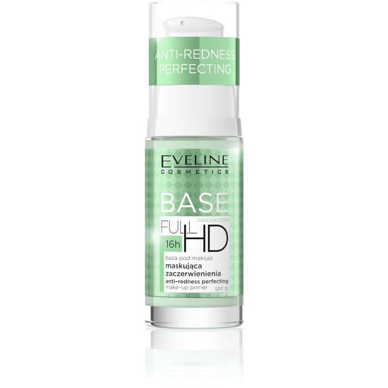 Afbeelding van Eveline Cosmetics Full Hd Make-up Primer Anti Redness Perfecting 30ml.