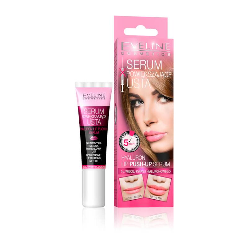 Afbeelding van Eveline Cosmetics Hyaluron Lip Push Up Serum 12ml.