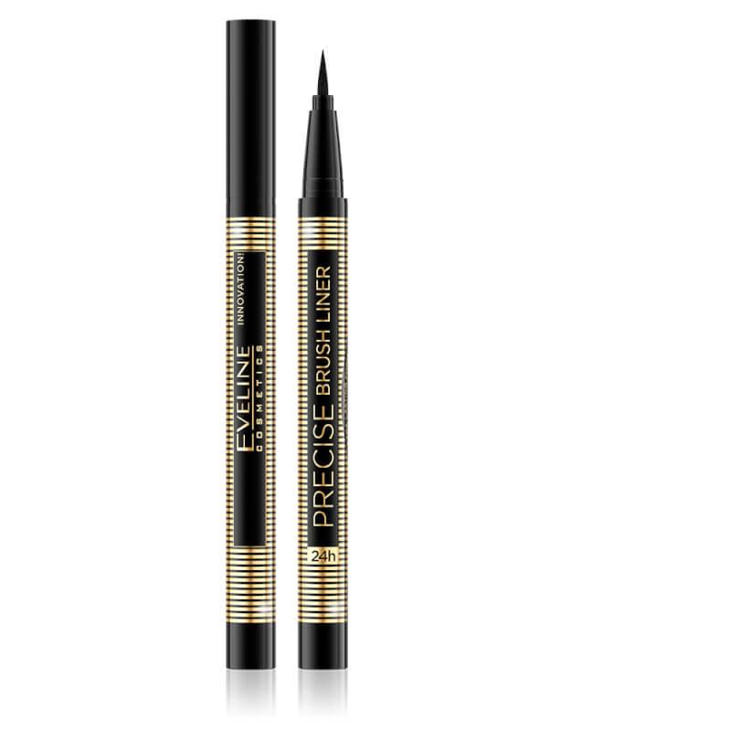 Afbeelding van Eveline Cosmetics Precise Brush Liner Black