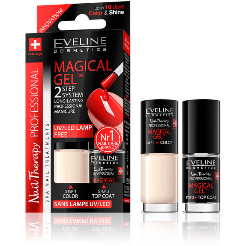 Afbeelding van Eveline Cosmetics Spa Nail Therapy Magical Gel 2x5ml No 8