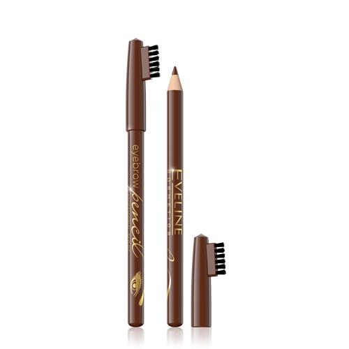 Afbeelding van Eveline Cosmetics Eyebrow Pencil Brown With Brush