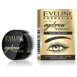 Eveline Cosmetics Eyebrow Pomade Dark Brown