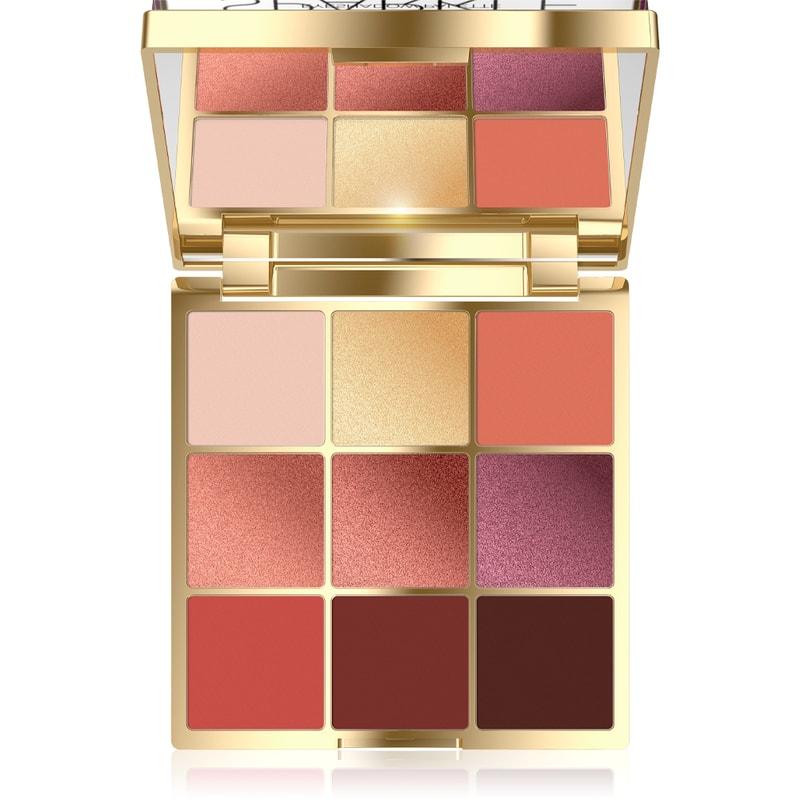 Afbeelding van Eveline Cosmetics Eyeshadow Palette 9 Colors Sparkle