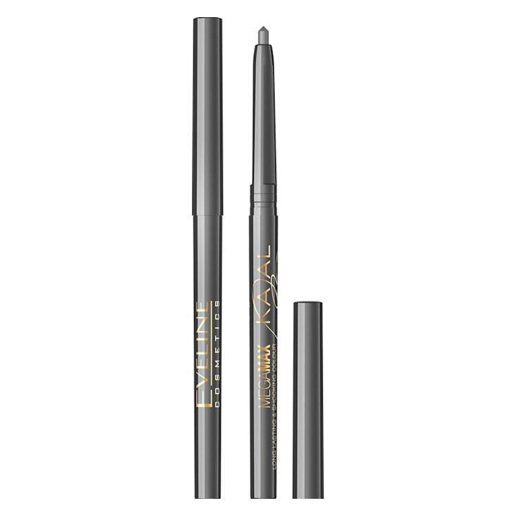 Afbeelding van Eveline Cosmetics Kajal Mega Mex Eyeliner Pencil Grey