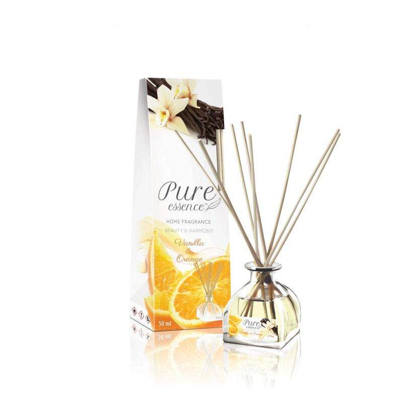Afbeelding van REVERS® Pure Essence Fragrance Diffuser Vanilla & Orange 50ml.