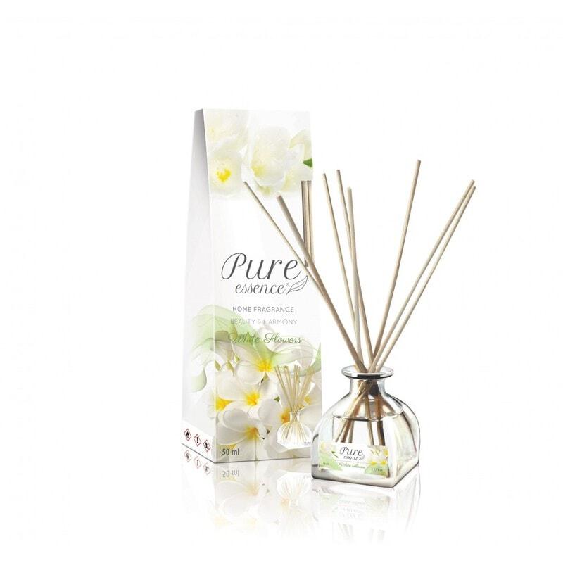 Afbeelding van REVERS® Pure Essence Fragrance Diffuser White Flowers 50ml.