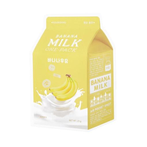 Afbeelding van A'PIEU Banana Milk One-Pack 21g.