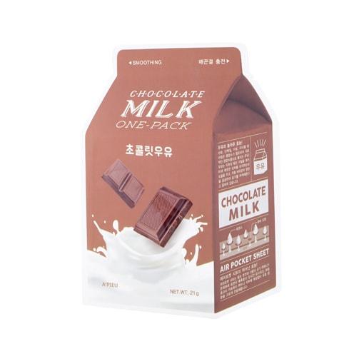 Afbeelding van A'PIEU Chocolate Milk One-Pack 21g.