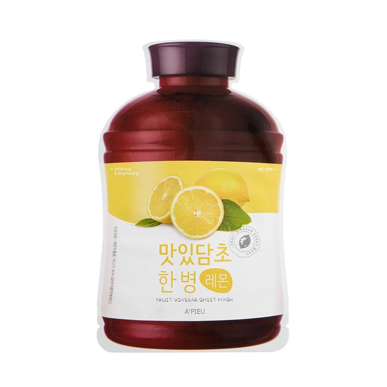Afbeelding van A'PIEU Fruit Vinegar Sheet Mask Lemon 20g.