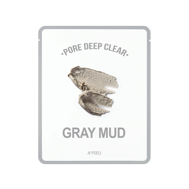 Afbeelding van A'PIEU Pore Deep Clear Gray Mud Mask 15g.