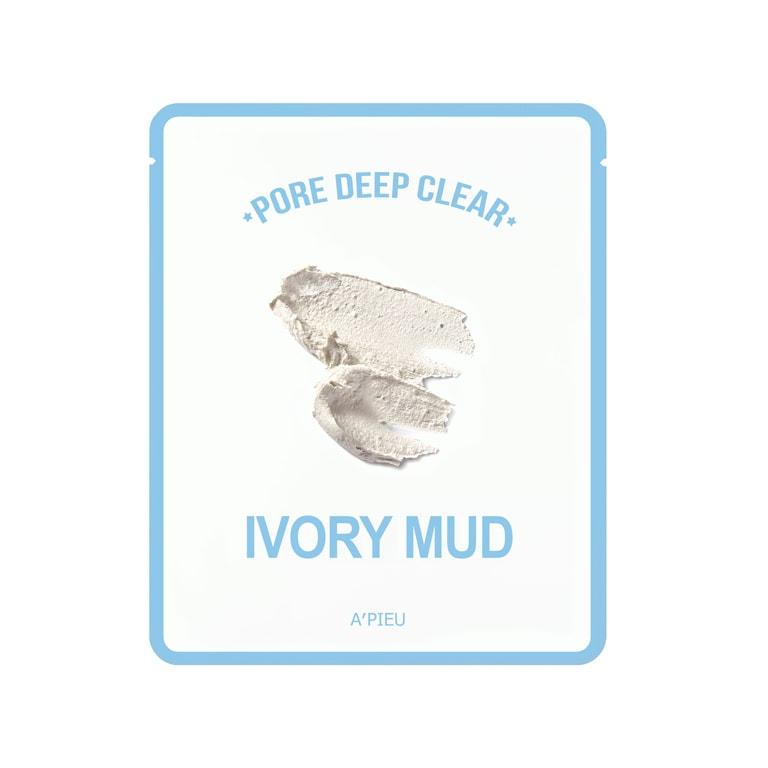 Afbeelding van A'PIEU Pore Deep Clear Ivory Mud Mask 15g.