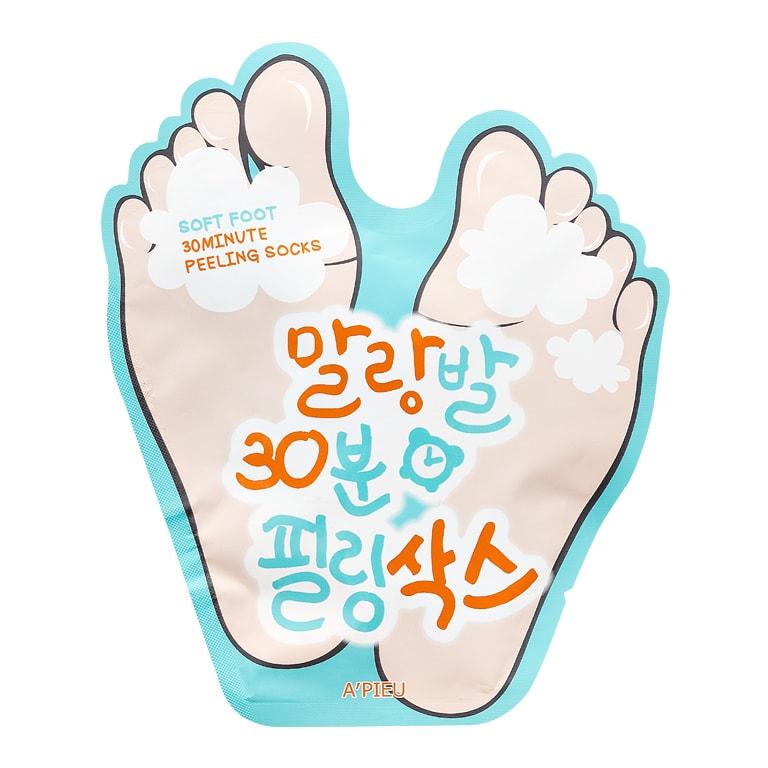 Afbeelding van A'PIEU Soft Foot Peeling Socks 40ml.