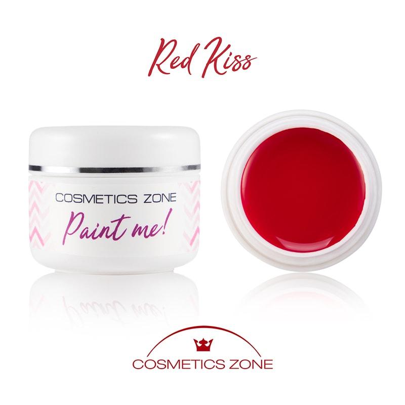 Afbeelding van Cosmetics Zone Paint Me - UV/LED Gel Red Kiss 5ml.
