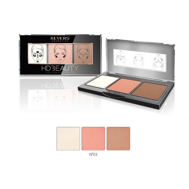 Afbeelding van REVERS® HD Beauty Pro Contour Palette #3