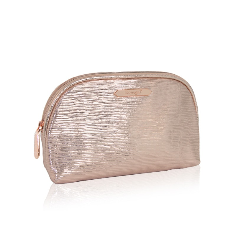 Afbeelding van Donegal Cosmetic Bag 3 - Make-up Tasje Metallic Rose - 4980