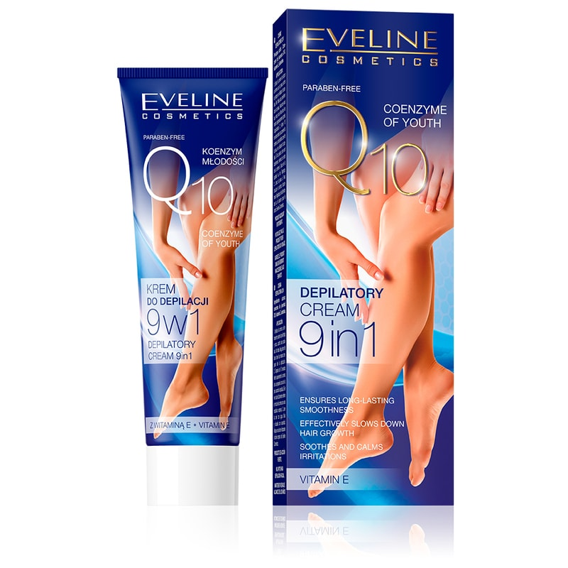 Afbeelding van Eveline Cosmetics Q10 Ultrafast Depilatory Cream Sachet 75ml.