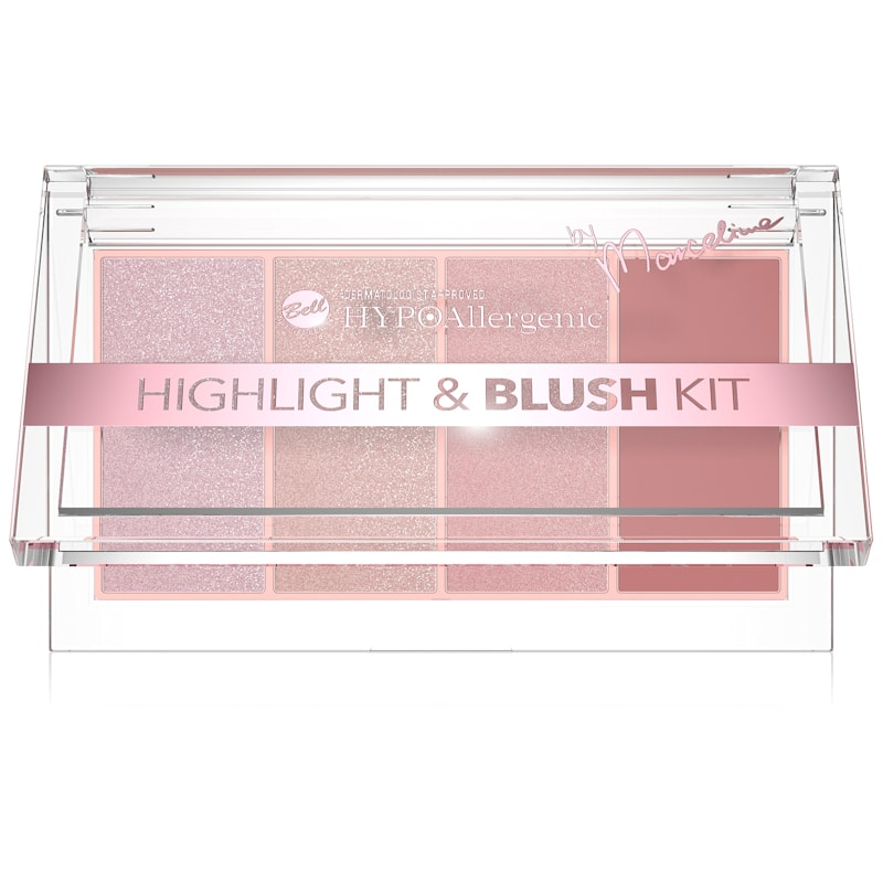 Afbeelding van Hypoallergenic – Hypoallergene Highlight And Blush Kit #01