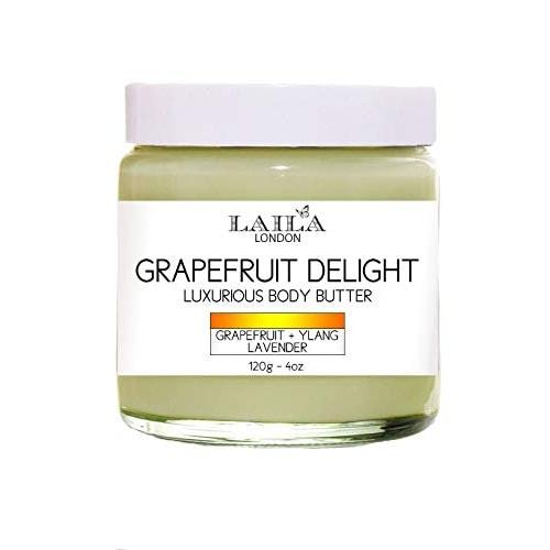 Afbeelding van Laila London Grapefruit Delight Lururious Body Butter 120g.