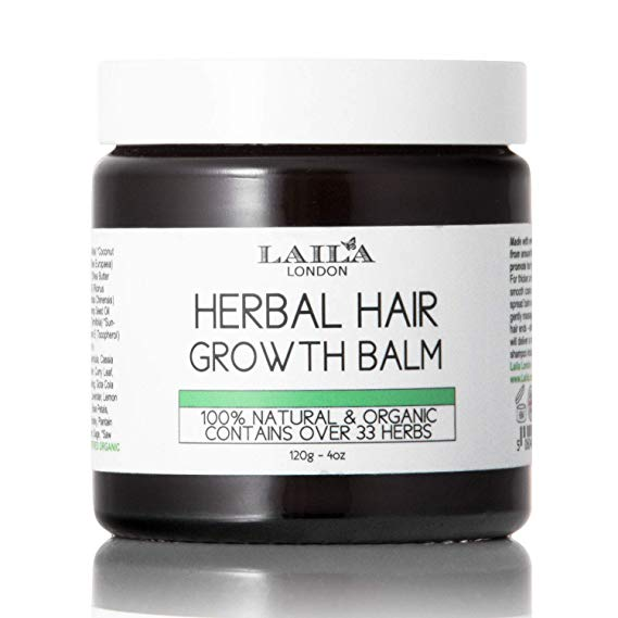 Afbeelding van Laila London Herbal Hair Growth Balm 120g.